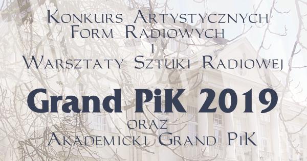 Grand PiK 2019
