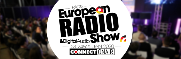 Conference programme of the 2020 European Radio Show (Salon de la Radio)