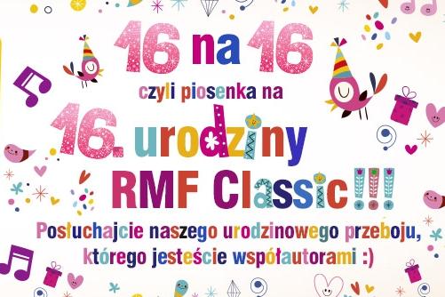 Radio RMF Classic świętuje swoje 16. urodziny wyjątkowym filmem