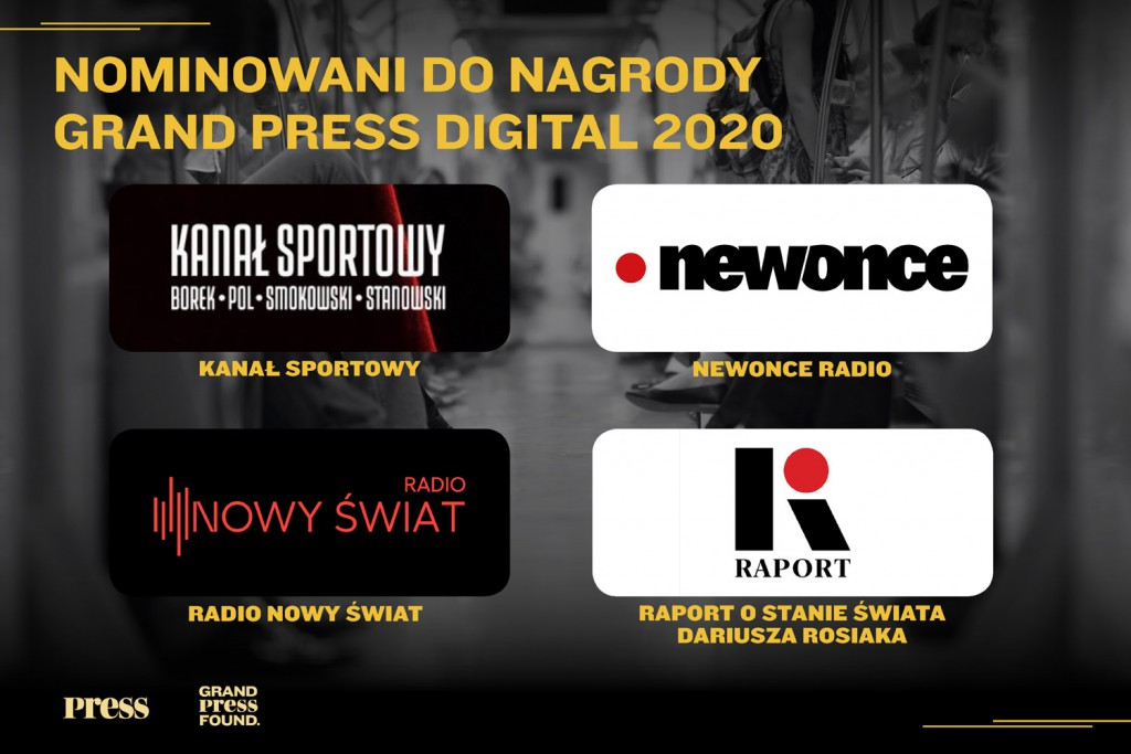 Nominacje do Grand Press Digital 2020