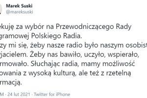 Polskie Radio według Marka Suskiego