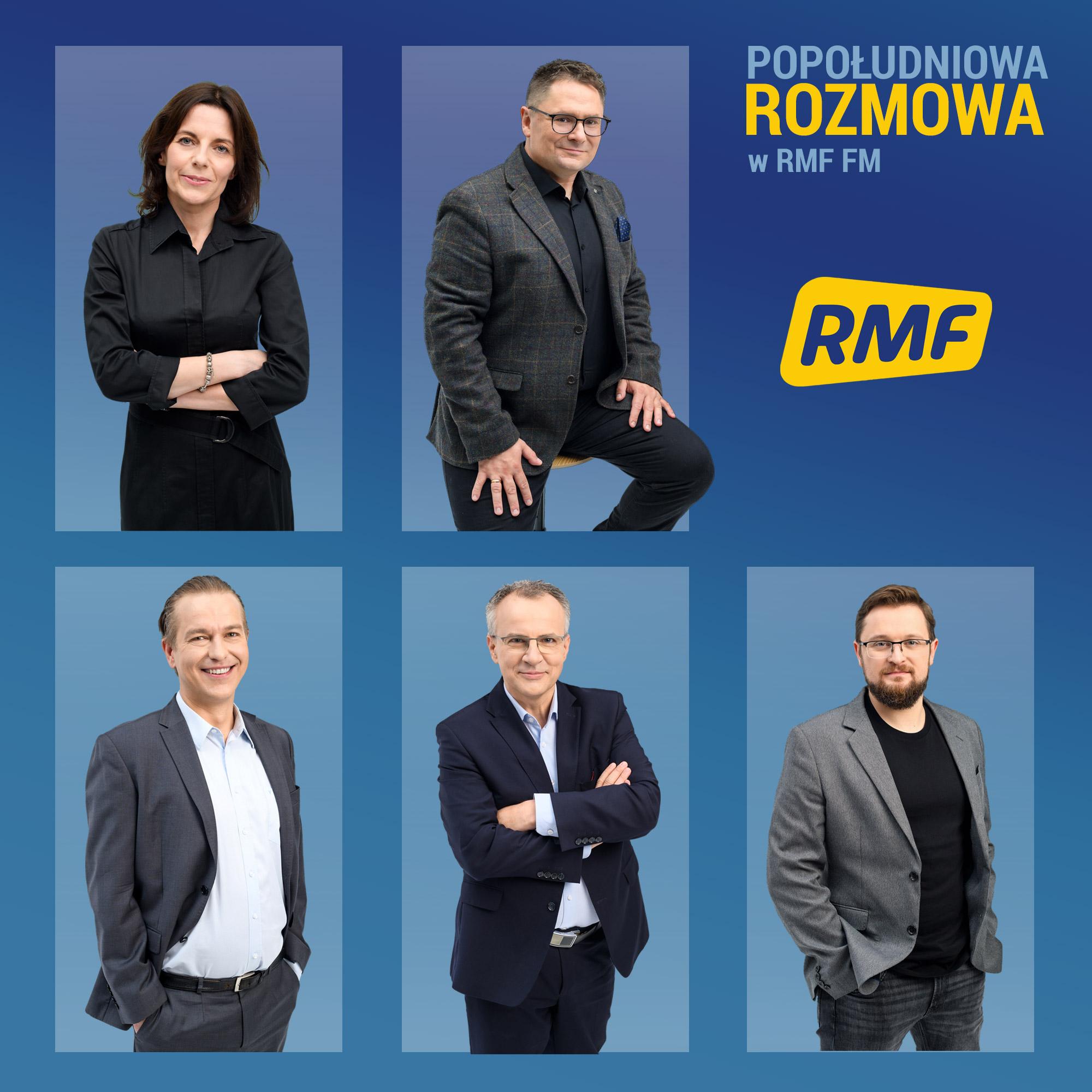 """Pięciu nowych prowadzących """"Popołudniową Rozmowę w RMF FM"""""""